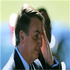 탄핵,대통령,보우소나,코로나19,브라질,찬성,의회