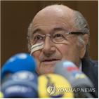 회장,블라터,FIFA