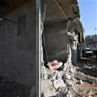 시리아,이스라엘,공습