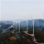한화건설,사업,에너지,풍력,친환경,발전단지,협력사,작년