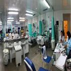 환자,코로나19,공공의료,부족,브라질,산소,입원