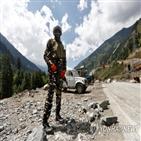 충돌,인도,발생,국경,중국군,부상자