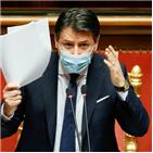 총리,콘테,연정,구성,이탈리아,내각,정당