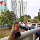 베트남,맥주,업체,영유권