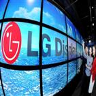 LG디스플레이,증가,영업이익,지난해,매출,성과