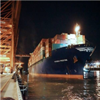 노선,투입,임시선박,유럽,미주,화물