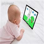 터치스크린,영유아,주의력,집중력,물체,태블릿,스미스