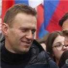 나발,러시아,구속,체포,모스크바,경찰,판결,법원,시위,집행유예