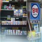 담뱃값,흡연율,인상,국가,평균,담배,한국,담배가격,담뱃세,가격