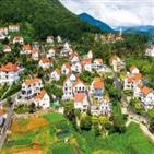 마을,분위기,프랑스,남해,가평,스위스