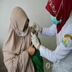 접종,백신,고령자,인도네시아,보건의료인,시작,코로나19,이상