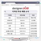 디자인,채용,관련,디자이너,경력,홈페이지