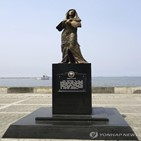 동상,필리핀,철거,작가,일본