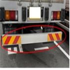 화물차,안전판,차량,후부,설치,높이