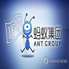 앤트그룹,주석,상장