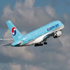 무착륙,대한항공,국제관광비행,상품,운영