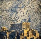 폭설,아테네,신전