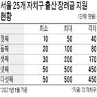 출산,장려금,지원,기준선,자치구,첫째,서울,둘째,경쟁