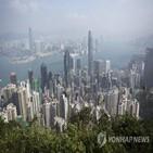중간값,홍콩,도시,아파트,부동산,집값,가계소득