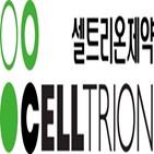 셀트리온제약,치료제,성장