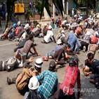 미얀마,지난달,보도,아세안,군경,쿠데타,만달레이,최소,시민