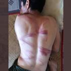 시민,체포,미얀마,사진,고문,군경