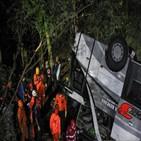 서부,관광버스,인도네시아,버스,사고