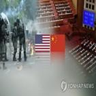 미국,홍콩,중국,대비,양회,장기전,행정부,대한,시도,홍콩보안법