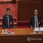 총리,중국,주석,발언,권력,전인대,기자회견,경제,노점,소신