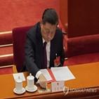 홍콩,중국,선출,선거제,개편안,성명