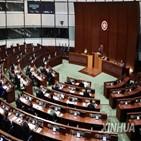 홍콩,개편,세력,선거제,선거인단,입법회