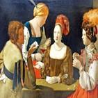 사기꾼,여자,에이스,다이아몬드,오른쪽,카드,청년,판돈,가장