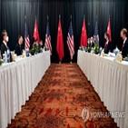 미국,중국,위해,만남,위협,질서,인권,지적,나라