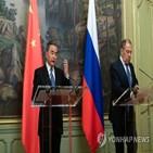 중국,미국,북한,회담,고위급,러시아,외교부,라브로프