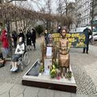 소녀상,평화,결의안,영구설치,베를린,지난해,논의