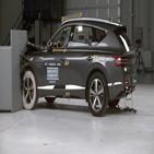 우즈,충돌,사고,결과,안전,차량,에어백,안전성,테스트,원인