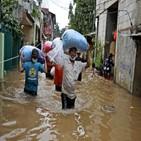 자카르타,홍수,발생
