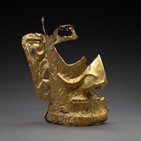 중국,역사,유물,쓰촨성,황금,가면,유적지