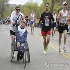 아들,아버지,마라톤,완주,보스턴,장애,철인