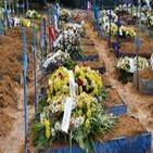 사망자,브라질,미국,지난주