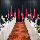 중국,미국,제재,문제,압박,협력,북한,러시아,인권,회담