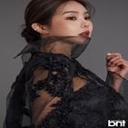 김지나,드레스,화보,뷰티
