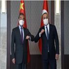 중국,터키,외교,협력,헝가리,부장,미국,국방,신장