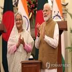 총리,모디,방문,방글라데시,인도,경찰,시위