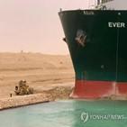 선박,모래,운하,좌초,제거,수에즈운하,우회,2만