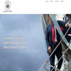 트럼프,대통령,웹사이트,모습,차례,공식