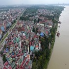 홍강,지역