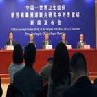 중국,조사,데이터,기원,코로나19,전문가