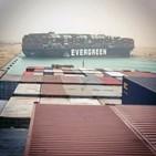 운하,수에즈운하,선박,컨테이너선,좌초,외신