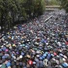 홍콩,야권,혐의,집회,유죄,서방,재판